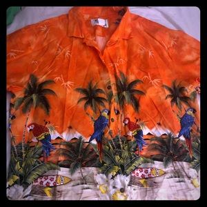 Other - Couples matching Hawaiian button down and dress